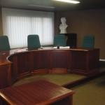 Salle d'audience conseil des Prud'hommes, Le Puy en Velay