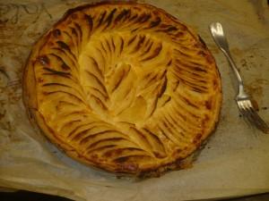 La magnifique tarte de Valène.